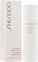 Духи, Парфюмерия, косметика Дезодорант - Shiseido Deodorant Natural Spray