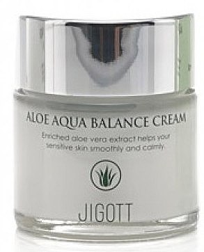 Крем увлажняющий с алоэ - Jigott Aloe Aqua Balance Cream