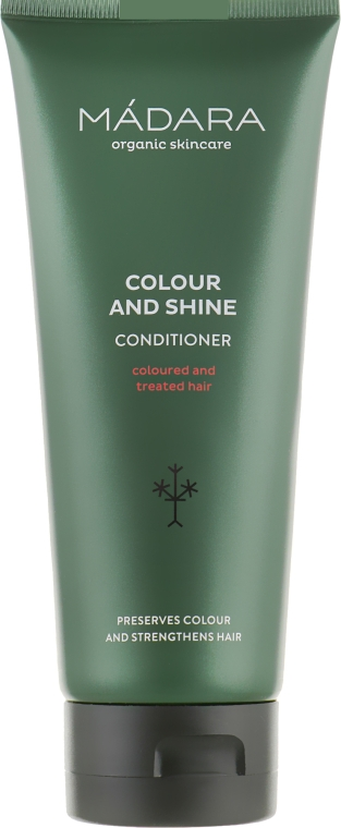 Бальзам для окрашенных и химически обработанных волос - Madara Cosmetics Colour & Shine Conditioner