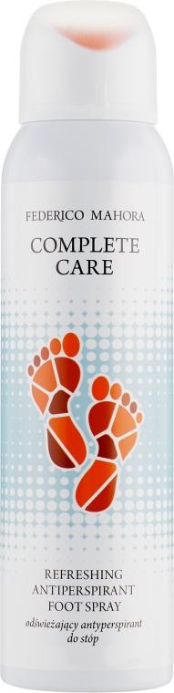Освежающий антиперспирант для ног - Federico Mahora Complete Care Refreshing Antiperspirant Foot Spray