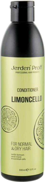 Кондиционер для волос с эфирными маслами лимона и мяты - Jerden Proff Limoncello