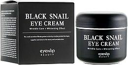 Духи, Парфюмерия, косметика Крем для кожи вокруг глаз многофункциональный - Eyenlip Black Snail Eye Cream