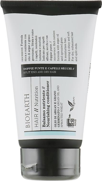 Кондиционер для волос питательный - Bioearth Hair Nourishing Conditioner