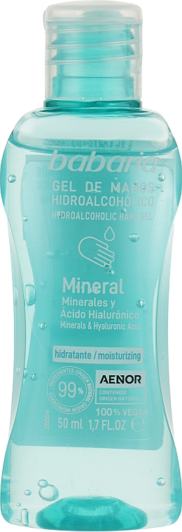 Антибактериальный спрей для рук - Babaria Mineral Gel De Manos Spray