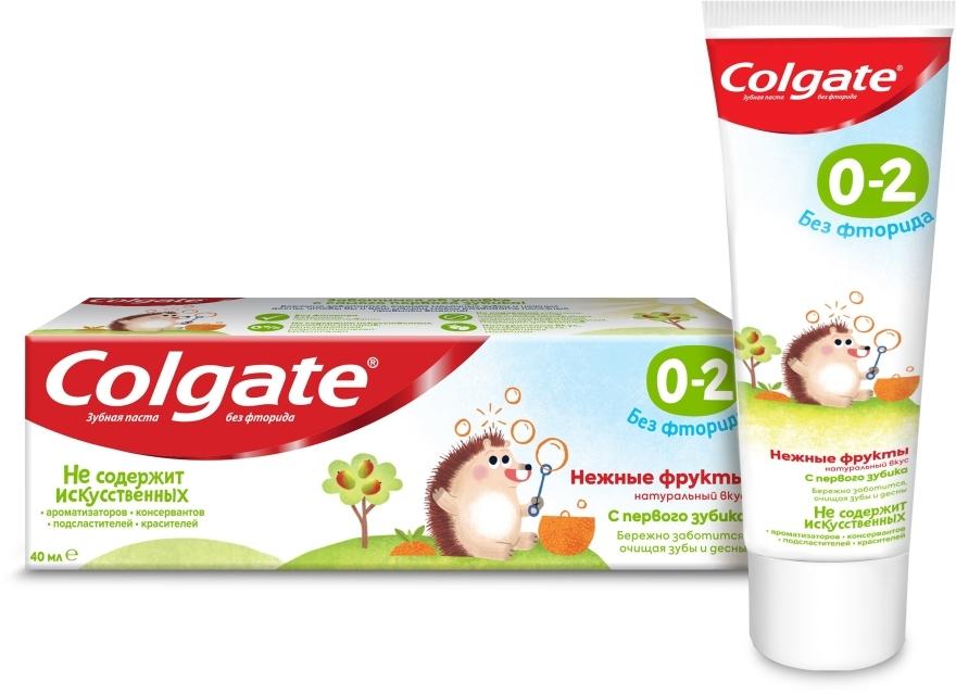 """Детская зубная паста """"Нежные фрукты"""" без фторида, 0-2 лет - Colgate"""