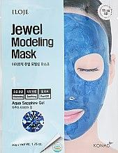 """Духи, Парфюмерия, косметика Маска для лица """"Aqua Sapphire"""" - Konad Iloje Jewel Modeling Mask"""