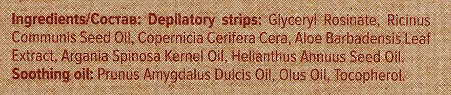 Пластырь с растительным воском для депиляции лица - Joanna Sensual Depilatory Vegan Wax Strips — фото N4