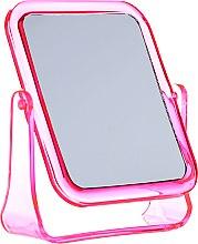 Духи, Парфюмерия, косметика Зеркальце косметическое квадратное, 5282, розовое - Top Choice