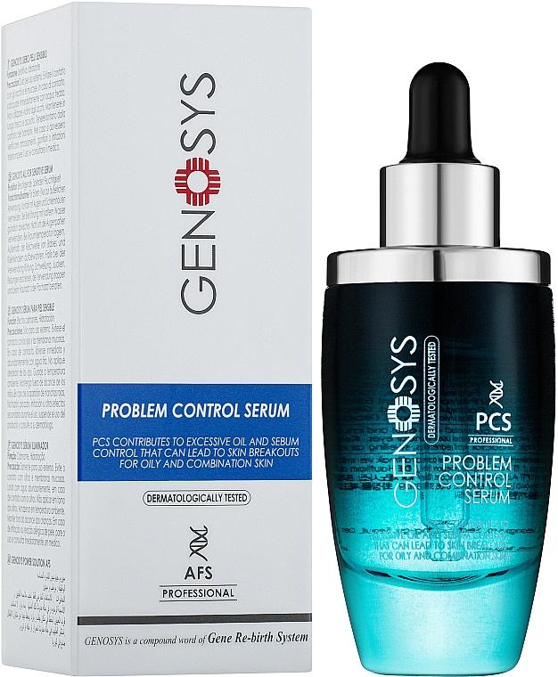 Сыворотка для проблемной кожи лица - Genosys Problem Control Serum