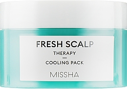 "Духи, Парфюмерия, косметика Маска для волос ""Охлаждающая"" - Missha Fresh Scalp Therapy Cooling Pack"