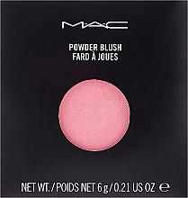 Духи, Парфюмерия, косметика Румяна для лица - M.A.C Powder Blush Refill (сменный блок)