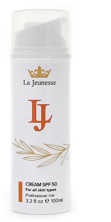 Крем для лица SPF 50 - La Jeunesse Cream With SPF 50