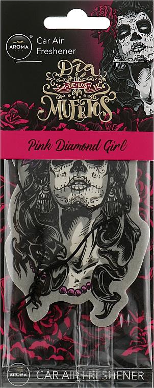 """Ароматизатор для авто """"Girl Pink"""" - Aroma Car Dia De Los Muertos"""