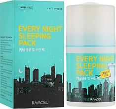 Духи, Парфюмерия, косметика Маска ночная несмываемая - Ramosu Every Night Sleeping Pack