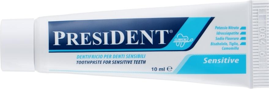 """Зубная паста для чувствительных зубов """"Sensitive Clinical"""" - PresiDENT (мини)"""