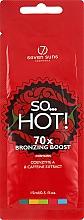 Духи, Парфюмерия, косметика Крем для солярия разогревающий с перцем и бронзантами - 7Suns So…Hot! 70X Bronzing Boost (пробник)