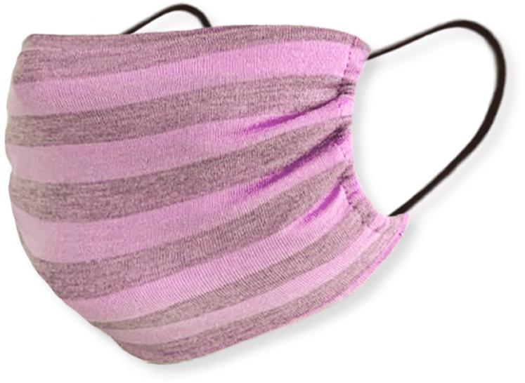 Маска трикотажная многоразовая с карманом, розовая - Piel Cosmetics Safe Care