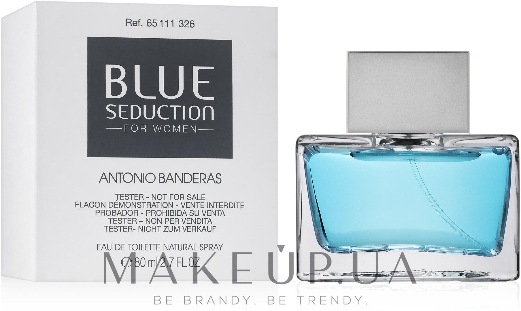 Blue Seduction Antonio Banderas woman - Туалетна вода (тестер з кришечкою) — фото 80ml