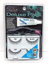 Парфумерія, косметика Набір накладних вій - Ardell Deluxe Pack 109 Black