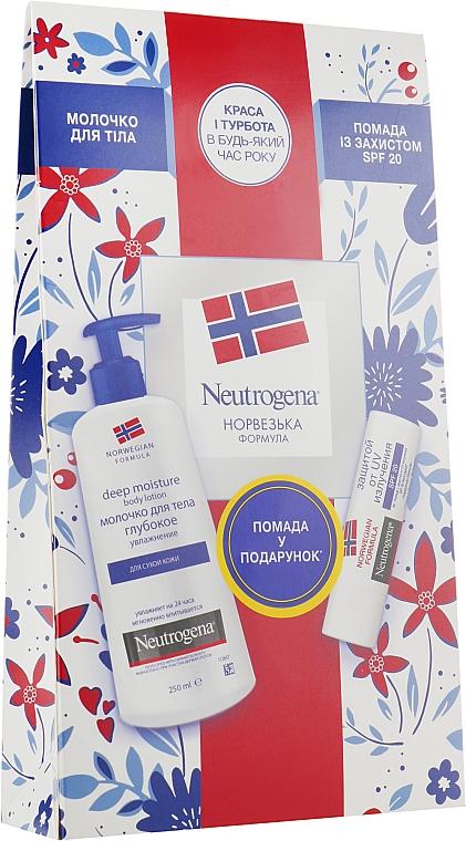 """Набор """"Красота и забота"""" - Neutrogena (b/lot/250ml + pomade/4.8g)"""