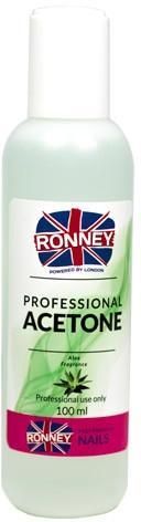 "Средство для снятия лака ""Алоэ"" - Ronney Professional Acetone Aloe"