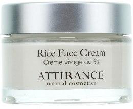 Духи, Парфюмерия, косметика Рисовый крем для лица - Attirance Rice Face Cream