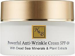 Сильнодействующий крем от морщин - Health And Beauty Powerful Anti Wrinkle Cream SPF-20 — фото N2