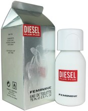 Духи, Парфюмерия, косметика Diesel Plus Plus Feminine - Туалетная вода (тестер с крышечкой)