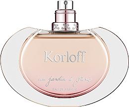 Духи, Парфюмерия, косметика Korloff Paris Un Jardin a Paris - Парфюмированная вода (тестер без крышечки)