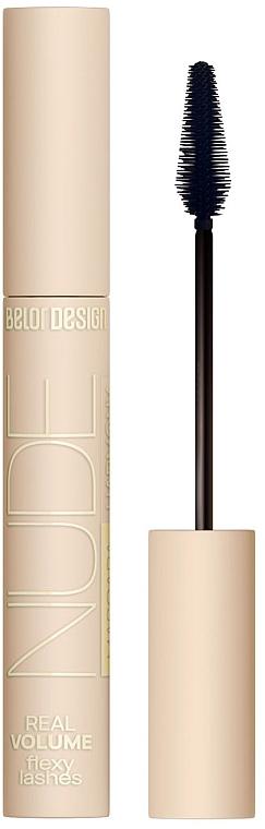 Тушь для ресниц объемная - Belor Design Nude Harmony Mascara