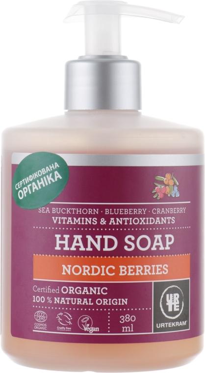 """Жидкое мыло """"Скандинавские ягоды"""" - Urtekram Nordic Berries Hand Soap"""