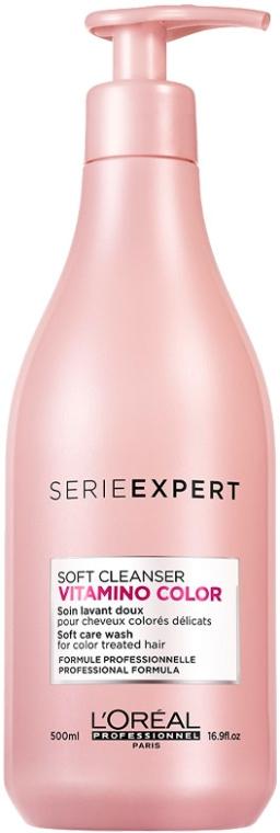 Шампунь для окрашенных волос - L'Oreal Professionnel Vitamino Color AOX Soft Cleanser
