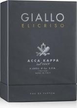 Духи, Парфюмерия, косметика Acca Kappa Giallo Elicriso - Парфюмированная вода