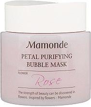 Духи, Парфюмерия, косметика Очищающая маска - Mamonde Petal Purifying BuBBle Mask-Rose