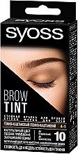 Парфумерія, косметика Стійка фарба для брів - Syoss Brow Tint