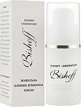 Духи, Парфюмерия, косметика Питательная белково-витаминная маска - Bishoff