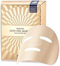 Духи, Парфюмерия, косметика Маска для лица - It's Skin Prestige Gold Foil Masque D'escargot