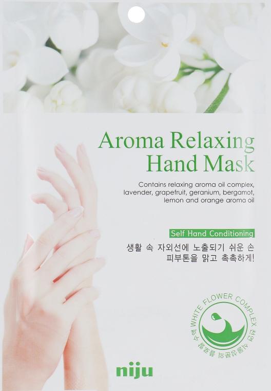 Расслабляющая маска для рук - Konad Niju Aroma Relaxing Hand Mask