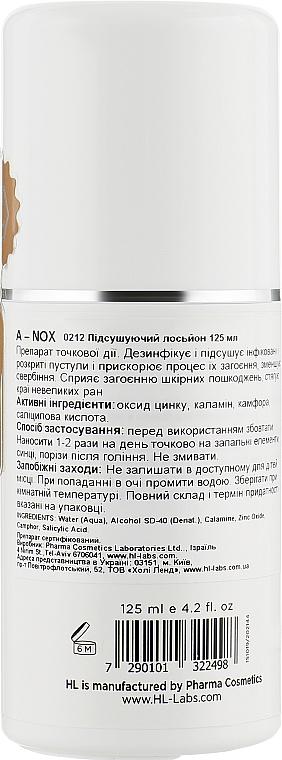 Підсушуючий лосьйон - Holy Land Cosmetics A-NOX Drying Lotion — фото N2
