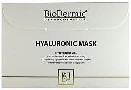 Духи, Парфюмерия, косметика Гиалуроновая маска для лица - Biodermic Hyaluronic Mask