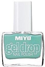 Духи, Парфюмерия, косметика Лак для ногтей - Miyo Gel Drop Nail