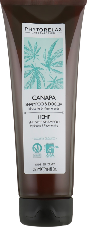 Шампунь и гель для душа - Phytorelax Laboratories Hemp Shower Shampoo