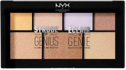Духи, Парфюмерия, косметика Палетка для стробинга - NYX Professional Makeup Strobe Of Genius Illuminating Palette