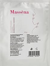 Духи, Парфюмерия, косметика Альгинатная маска для лица с экстрактом барбадосской вишни - Massena Alginate Mask Classic Barbados Cherry