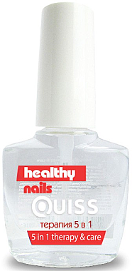 Терапия 5 в 1 - Quiss Healthy Nails №3 Therapy & Care