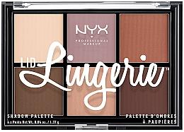 Духи, Парфюмерия, косметика Палетка теней для век - NYX Professional Makeup Lingerie Shadow Palette
