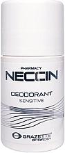 Духи, Парфюмерия, косметика Шариковый антиперспирант - Grazette Neccin Deodorant Sensitive