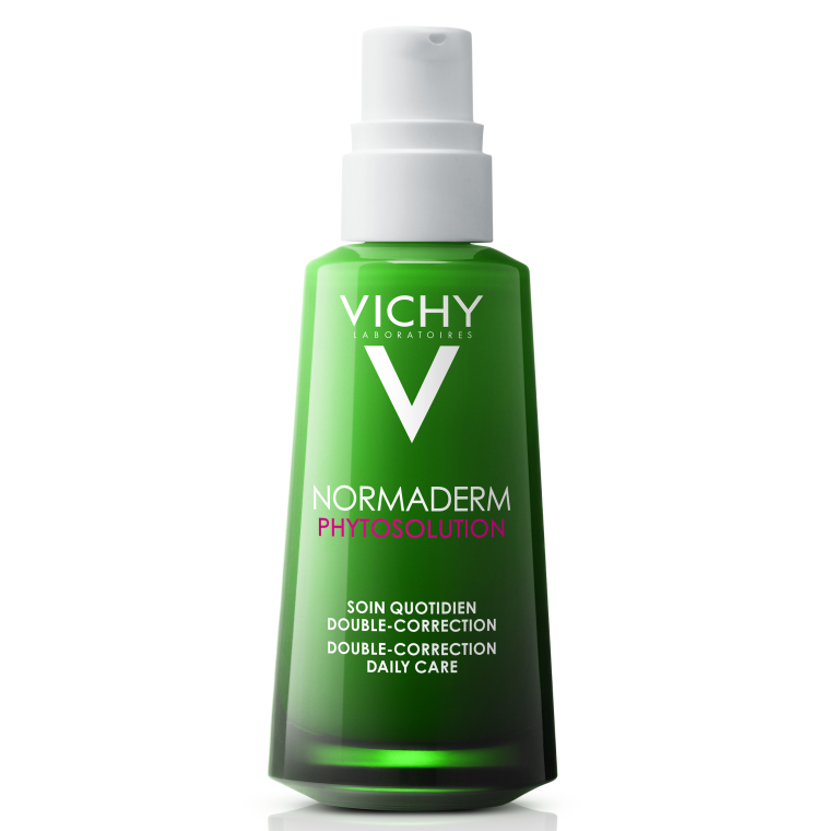 Флюид двойного действия для проблемной кожи лица - Vichy Normaderm Phytosolution Double Correction Daily Care Moisturiser