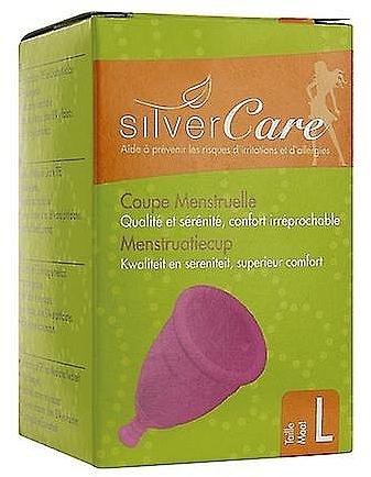 Гигиеническая менструальная чаша, размер L - Silver Care