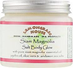 """Солевой пилинг """"Сиамская магнолия"""" - Lemongrass House Siam Magnolia Salt Body Glow — фото N1"""